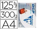 CAJA 5 PAQUETES 125 HOJAS CLAIRENFONTAINE A4 300 GRS