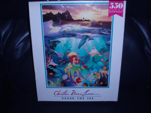 Picture of Lassen  International Christian Riese Lassen 550 Piece Puzzle: Under the Sea (B003DXC356) (Jigsaw Puzzles)