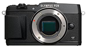 Olympus  E-P5 Black body 16 .1MP Compact System Camera with 3-Inch LCD- Body Only (Black)