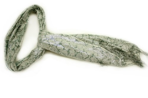 Fashion Dimensions Forest Green Watercolor Scarf