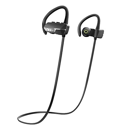 Bluetooth 4.1 Headphones, VicTsing Stereo Wireless Sports Headsets with Mic/APT-X, Sweatproof Noise Cancelling While Running for Apple iPhone 6s, 6s Plus, 6, 6 Plus, 5 5c 5s 4s ipad, LG G2 and More