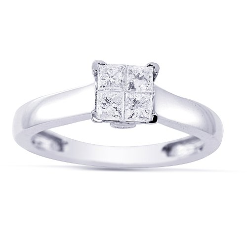 14k white gold engagement ring See Women 39s 14k White Gold Engagement Ring