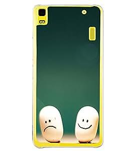 Smilies 2D Hard Polycarbonate Designer Back Case Cover for Lenovo K3 Note :: Lenovo A7000 Turbo
