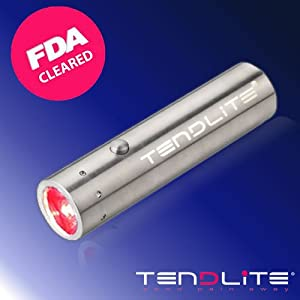 TENDLITE® Fast JOINT PAIN RELIEF | NEW Anti-inflammatory & Analgesic Red LED Light Therapy | Natural Pain Reliever for Joint, Knee, Shoulder, Elbow, Hand, Foot, Muscle, Neck, Back | Pain Management to Treat Arthritis, Tennis Elbow, Carpal Tunnel, Bursitis, Tendonitis, Plantar Fasciitis, Sciatica, Fibromyalgia & More