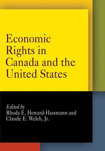 Economic Rights in Canada and the United States (Pennsylvania Studies in Human Rights)
