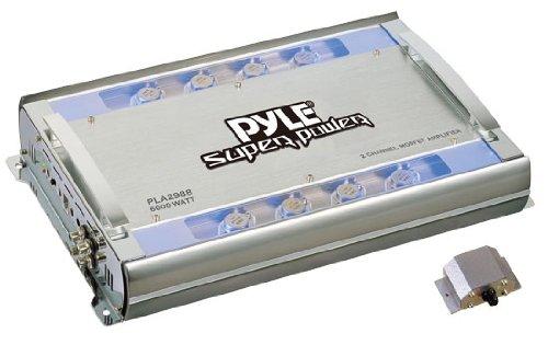 Pyle Pla2988 2 Channel 6000 Watts Bridgeable Mosfet Amplifier