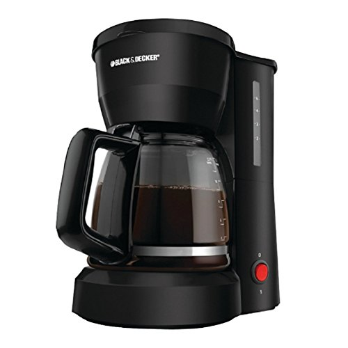 Ap Exit 9 5-Cup Drip Coffeemaker with Glass Carafe, Black (Kenmore Oven Broiler Pan compare prices)