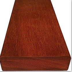 Wood Decking Exotic Massaranduba / Dimension: 5/4