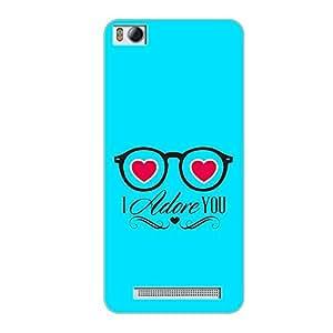 Vibhar printed case back cover for Xiaomi Mi 4i AdoreYou