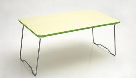uzi-lazy persone benessere Fashion Delicate Laptop, impermeabile letto pieghevole da tavolo, piccolo, tre colori opzionale Green