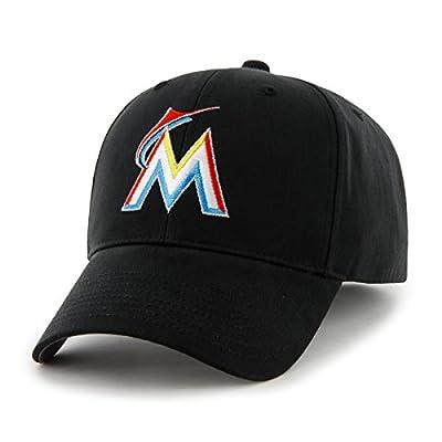 MLB Miami Marlins Basic Mvp Adjustable Hat, Youth, Home Color