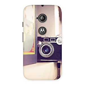 Special Pastel Camera Back Case Cover for Moto E 2nd Gen