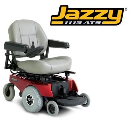 Pride Mobility Jazzy1113Ats Jazzy 1113Ats Electric Wheelchair