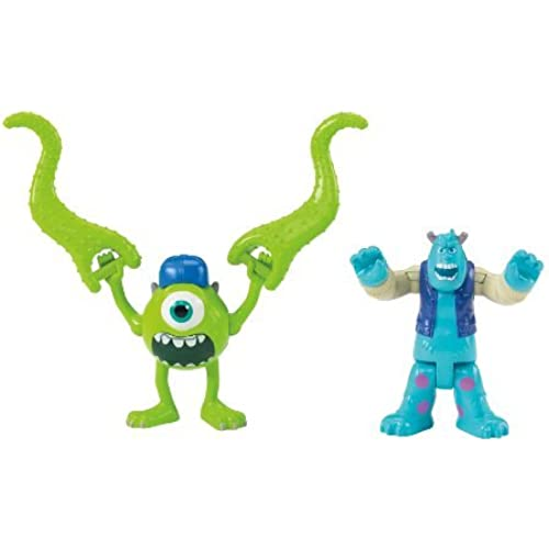 장난감 Fisher-Price 휘셔 프라이스 Imaginext Monster's University Scary Mike & Sulley Playset 플레이 세트 [병행수입품]-