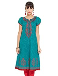LOVELY LADY Ladies Cotton Solid KURTI - B00ZCBCN7U