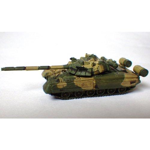 ソビエト軍 T80 主力戦車 U型 露西亜軍三色迷彩
