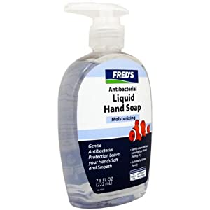Fred's Moisturizing Antibacterial Liquid Hand Soap Case Pack 24