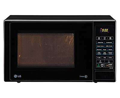 LG MH2344DB 23 Litre 2350-Watt Grill Microwave Oven (Black)