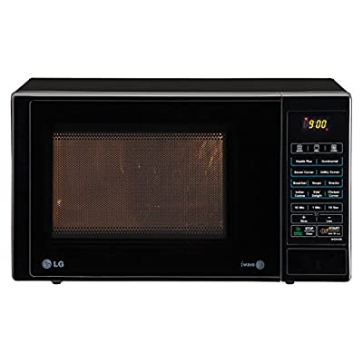 LG MH2344DB 23-Litre Grill Microwave Oven (Black)