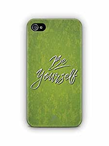 YuBingo Be Yourself Designer Mobile Case Back Cover for Apple iPhone 4S