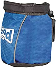 Outward Hound 23006 Treat Tote Treat And Training Bag Dog Treat Carrier Bag Adjustable Shoulder Strap, Large, Blue