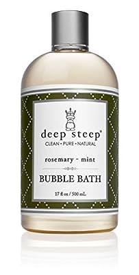 Deep Steep All Natural, Bubble Bath - Gluten Free, Non-GMO
