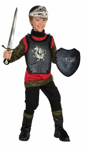Forum Novelties Black Knight Child Costume Armor Set