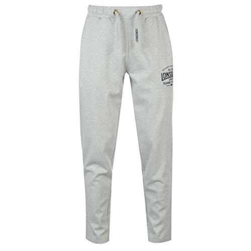 Lonsdale -  Pantaloni sportivi  - Uomo grigio XX-Large