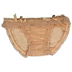 mYbare Flying Women's Bikini Yellow Panty (Pack of 1)