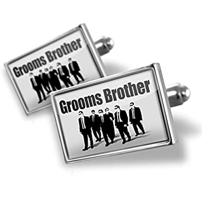 Sterling Silver Cufflinks Wedding Grooms Brother Reservoir Dogs - Neonblond