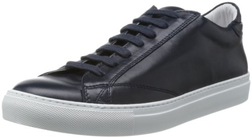 [アンバサダーズバイバージニア] Ambassadors By Verginia MEN'S LEATHER LOW-CUT SNEAKER