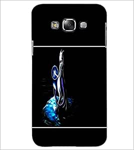 PrintDhaba Vector Fox D-1436 Back Case Cover for SAMSUNG GALAXY A7 (Multi-Coloured)
