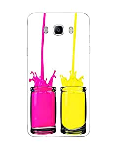 Samsung Galaxy J7 2016 Abstract Printed Colorful Hard Silicon Back Cover By Case Cover
