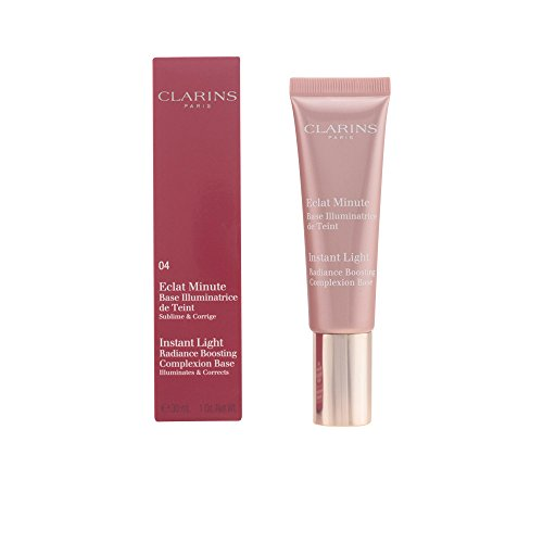 CLARINS - ECLAT MINUTE base illuminatrice de teint 04apricot 30 ml-mujer