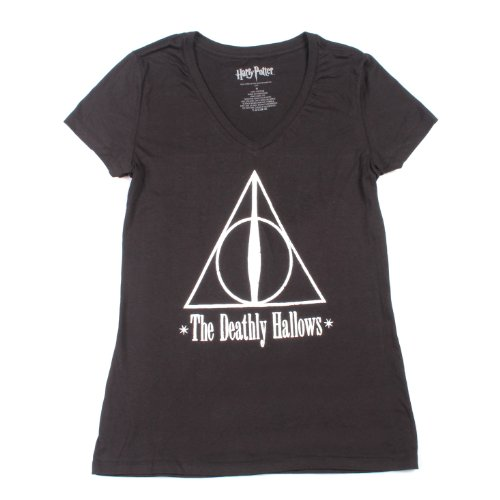 Harry Potter Deathly Hallows Womens T-Shirt