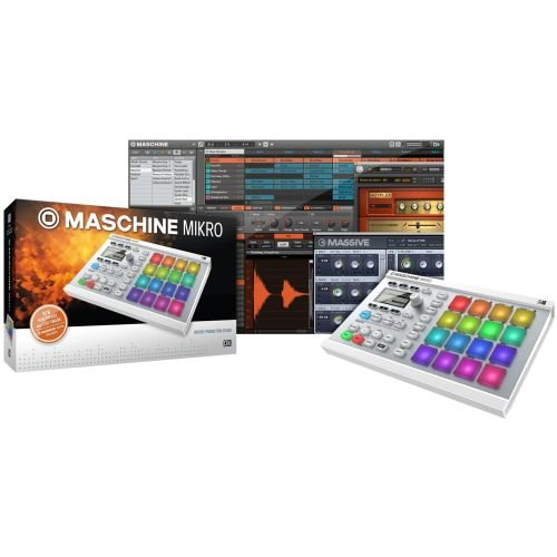 Native Instruments Maschine Mikro MK2 Groove Production Studio, White