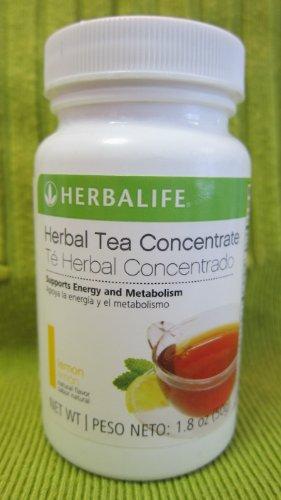 Herbalife Herbal Tea Concentrate - Lemon Flavor 1.8 Oz