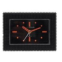 [ナノブロック]nanoblock デコレーション目覚時計 おまけフィギア付 デコレーション目覚時計 アラームクロック ブラック NAAC-96902BK