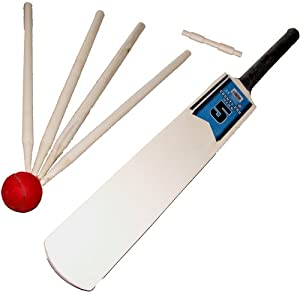 Wooden Baseline Cricket Set size 1