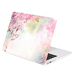 TOP CASE - Air 13-Inch Vibrant Summer Series Graphic Rubberized Hard Case Cover for Macbook Air 13\