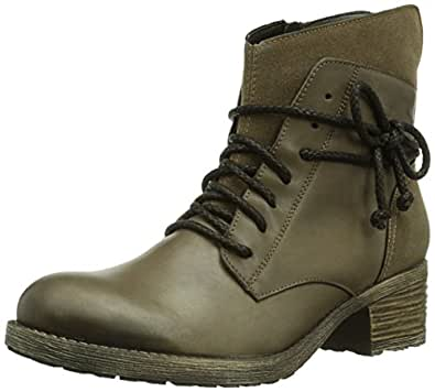 Fantastic Gray Womens Combat Boots Military Shoes Flat Motorcycle L