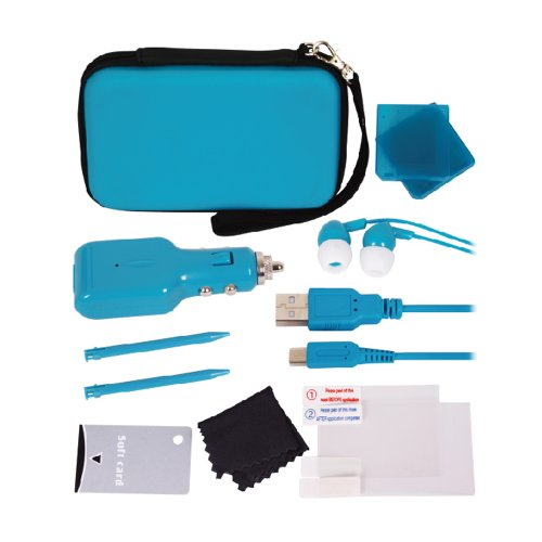 Crown Deluxe 12-in-1 Accessory Pack: Blue (Nintendo