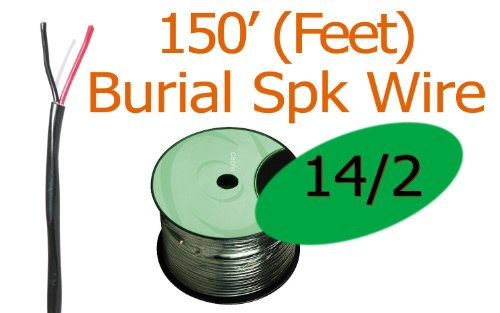 14/2 Awg 150 Ft Oxygen Free Direct Burial Rated Speaker Wire Ft4 (New)