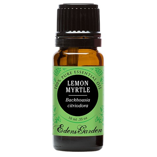 Lemon Myrtle 100% Pure Therapeutic Grade Essential Oil by Edens Garden- 10 ml