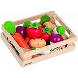 Janod J05611 Imitation Vegetable Punnet of 12