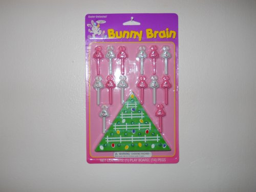 Cheap Greenbrier International BUNNY BRAIN TEASER [JUST BUNNY HOP OVER THE PEGS AND REMOVE THEM!] (B004V293N8)
