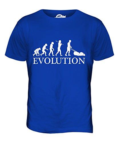 candymix-rasenmaher-evolution-des-menschen-herren-t-shirt-grosse-medium-farbe-konigsblau