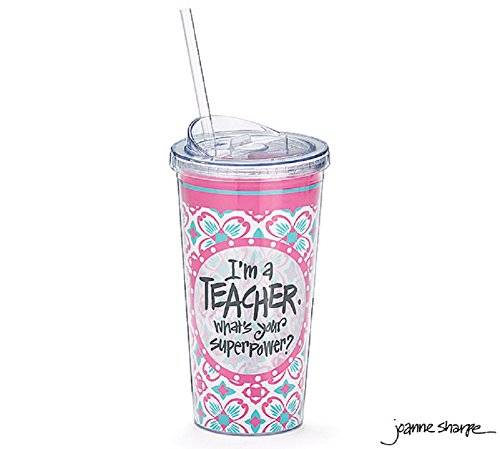 I'm a Teacher, What's Your Superpower Travel Cup 20 oz