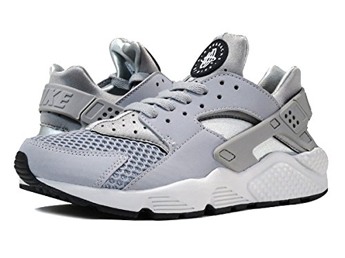 (ナイキ) NIKE AIR HUARACHE エア ハラチ WOLF GREY/PURE PLATINUM/BLACK/WHITE 318429-014 US9.5-27.5cm [並行輸入品]