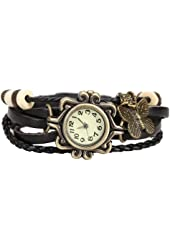 Girl Bracelet Quartz Wrist Watch Twisted Braid Strap Vintage